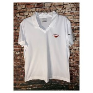 Nike Golf | polo style top Virginia Tech sz xLarge